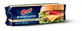 BURGER CHEESE SLICES BEGA (84 SLICES) 1KG (12)